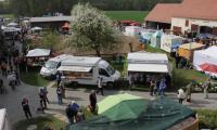 Blick über das Marktgelände des Frühjahrsmarktes 2015; Foto:  Bodo Hering